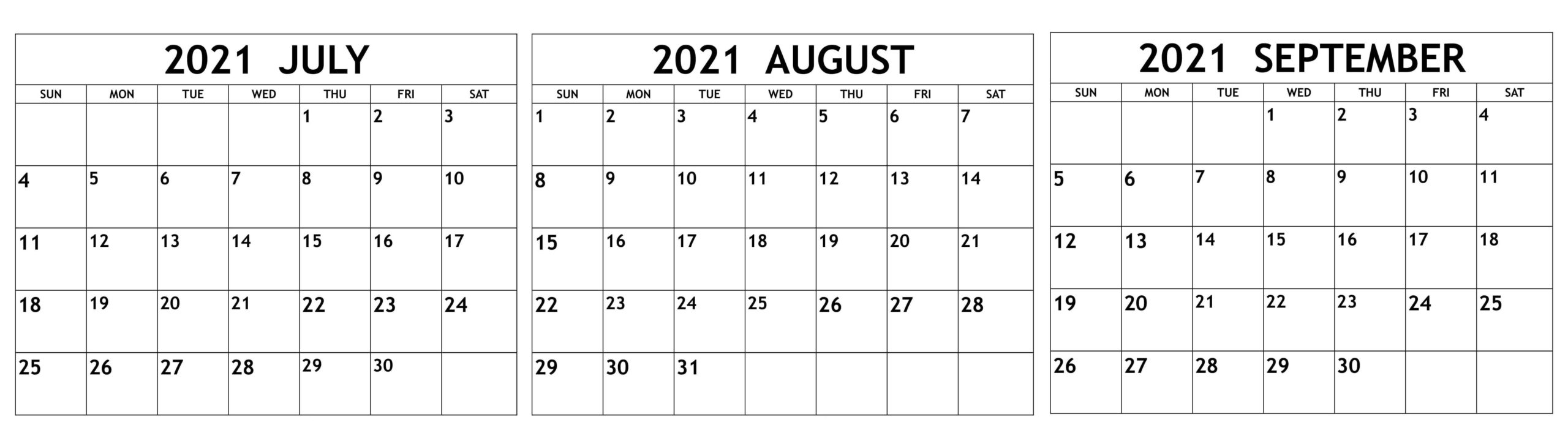 July To September Calendar 2021 JPG